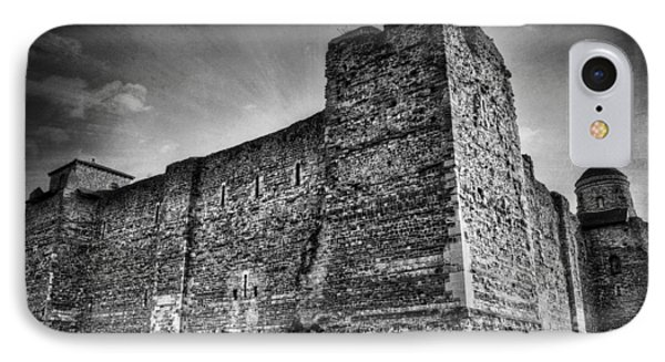 Colchester Castle Phone Case by Svetlana Sewell