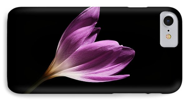 IPhone Case featuring the photograph Colchicum  by Judy Whitton