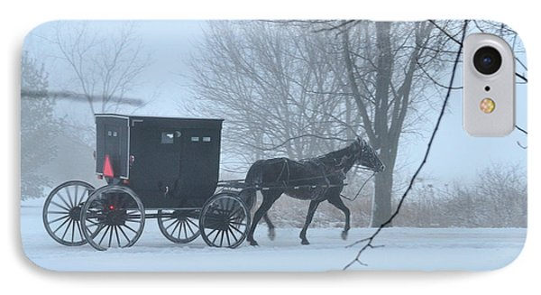 Cold Amish Morning IPhone Case
