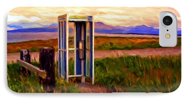 Cold Bay Ferry Service IPhone Case by Michael Pickett