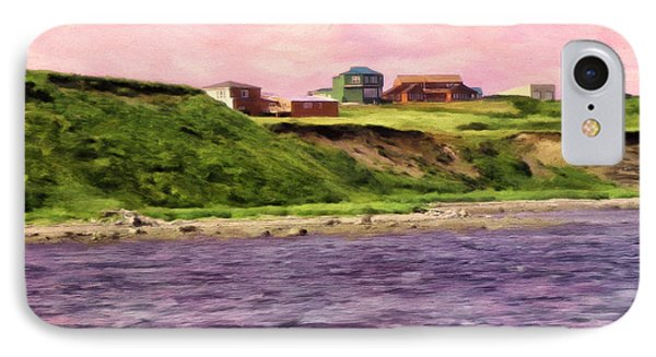 Cold Bay From The Dock IPhone Case by Michael Pickett