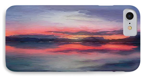 Cold Bay IPhone Case by Michael Pickett
