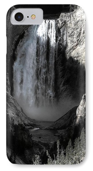 IPhone Case featuring the photograph Cold Cascade  by David Andersen