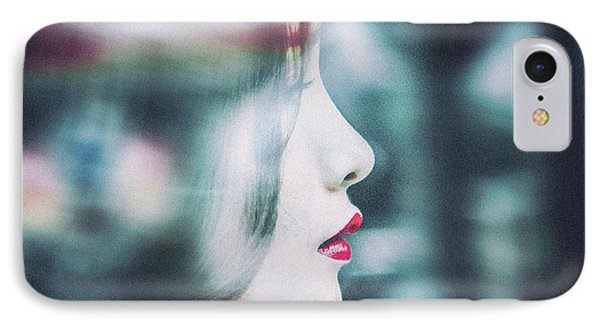 Cold Colorful Girl IPhone Case