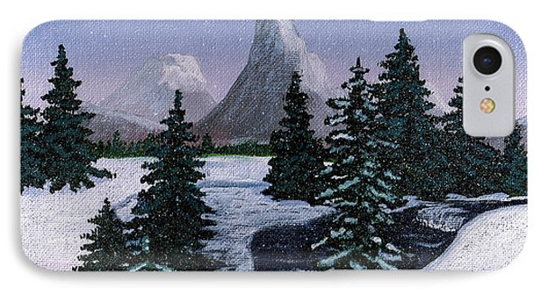 Cold Mountain Brook Phone Case by Barbara Griffin
