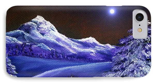 Cold Night Phone Case by Anastasiya Malakhova