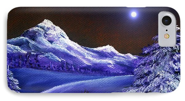 Cold Night IPhone Case by Anastasiya Malakhova