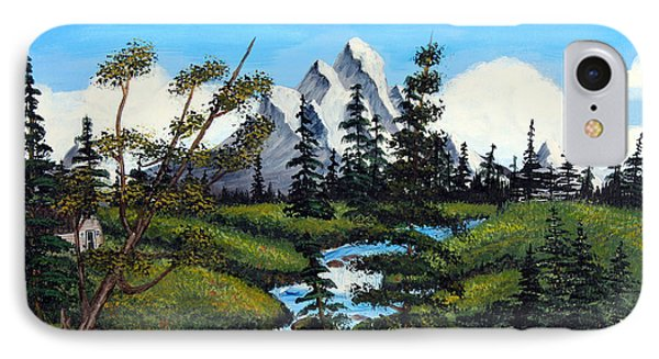 Cold Rattling Brook  Phone Case by Barbara Griffin