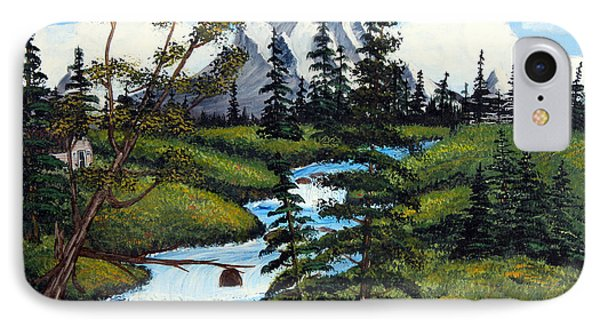 Cold Rattling Brook  IPhone Case by Barbara Griffin