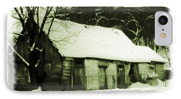 Countryside Winter Scene IPhone Case by Nina Ficur Feenan
