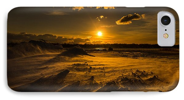 Cold Solace IPhone Case by Chris Bordeleau