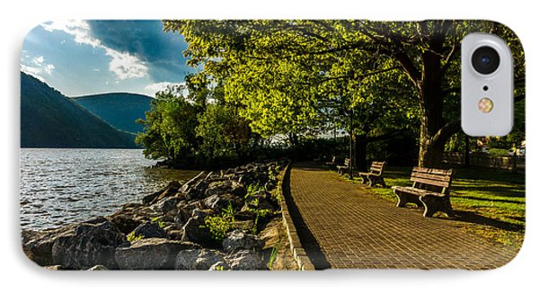IPhone Case featuring the photograph Cold Spring By The Hudson by Rafael Quirindongo