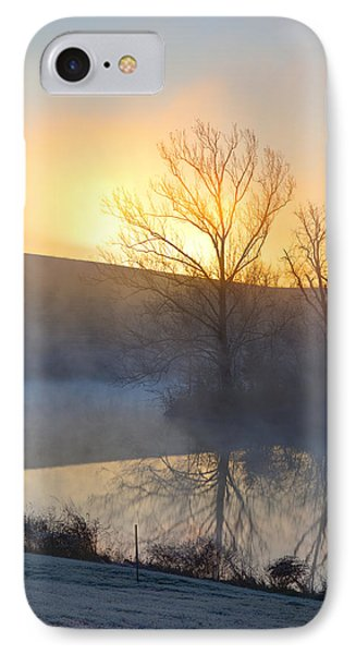 Cold Sunrise IPhone Case by Alexey Stiop