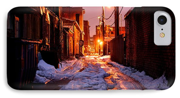 Cold Urban Alleyway Phone Case by Denis Tangney Jr