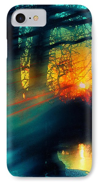 Cold Wind IPhone Case by Kat Besthorn