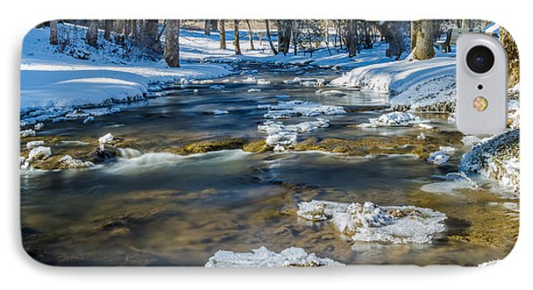 Cold Winter Creek IPhone Case
