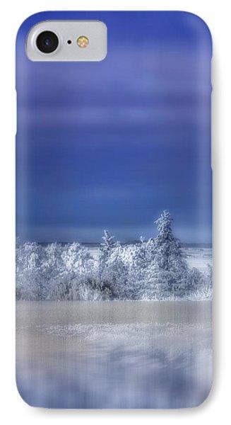 Cold Winter Day IPhone Case by Ellen Heaverlo