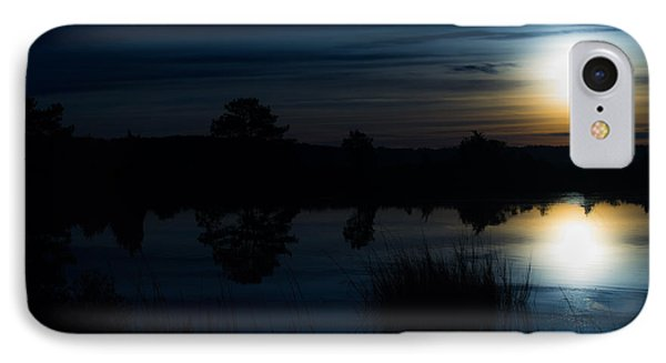 Cold Winter Morning IPhone Case by Angela DeFrias