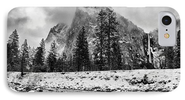Cold Winter Morning Phone Case by Cat Connor