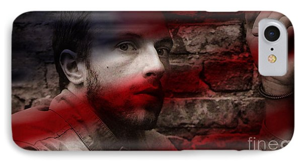 Coldplay Chris Martin IPhone Case by Marvin Blaine