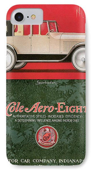 Cole Aero Eight Vintage Poster IPhone Case