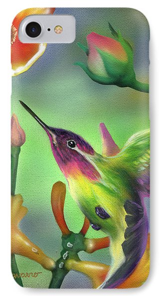 Colibri Phone Case by Luis  Navarro