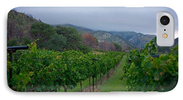 Colibri Vineyards IPhone Case