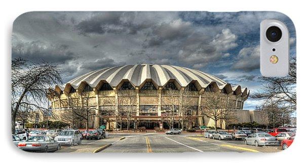 Coliseum Daylight Hdr IPhone Case by Dan Friend