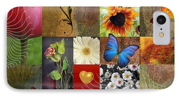 Collage Of Happiness 2 IPhone Case by Mark Ashkenazi
