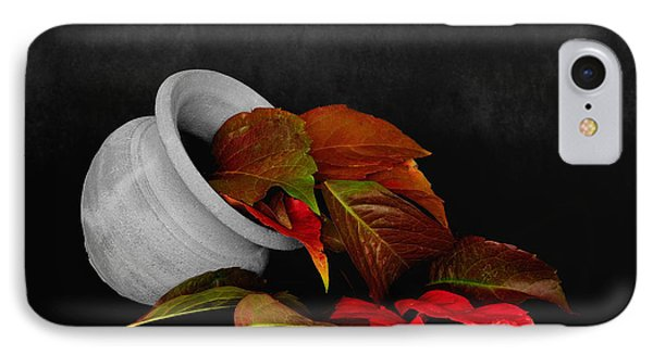 Collecting The Autumn Colors IPhone Case by Marwan Khoury