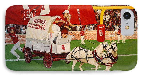 College Football In America IPhone Case by Alan Lakin