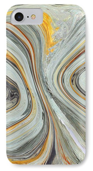 Colliding Circles IPhone Case by Christine Dekkers