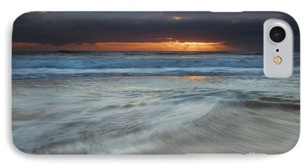 Colliding Tides Phone Case by Mike  Dawson