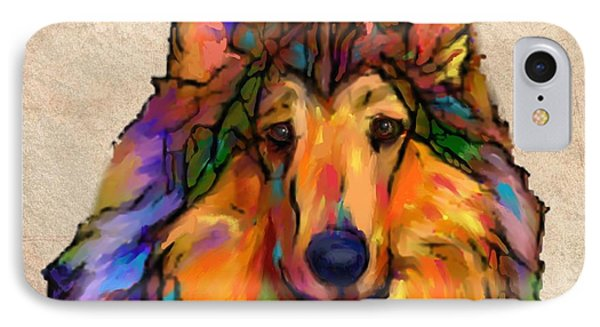 Collie IPhone Case by Marlene Watson