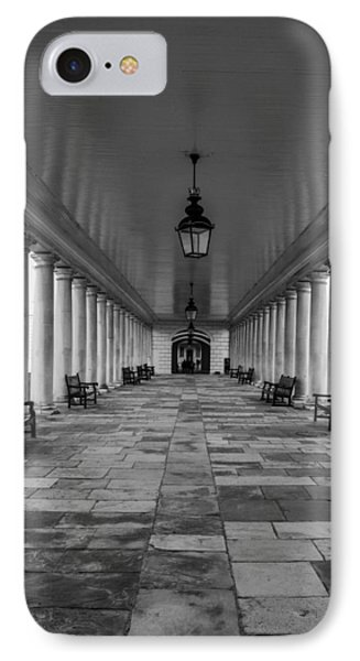 Columns Queens House Greenwich IPhone Case by Claire  Doherty