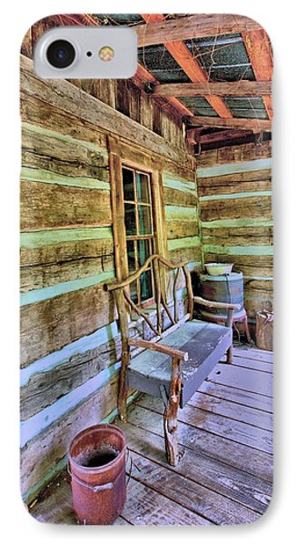 Colonial Front Porch Basics Phone Case by Gordon Elwell