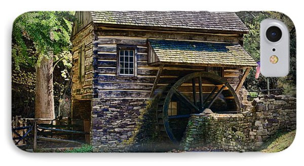 Colonial Grist Mill IPhone Case by Paul Ward