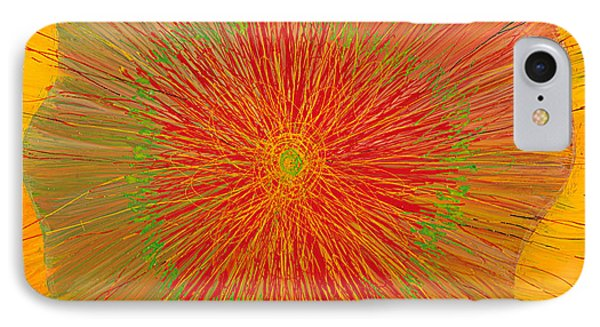 Color Burst 4 IPhone Case by Anna Skaradzinska