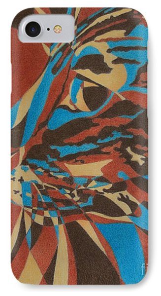 IPhone Case featuring the painting Color Cat II by Pamela Clements