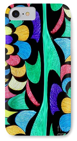 IPhone Case featuring the digital art Color Dance by Rafael Salazar