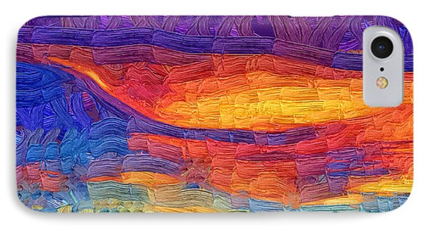 IPhone Case featuring the digital art Color Explosion by Kirt Tisdale
