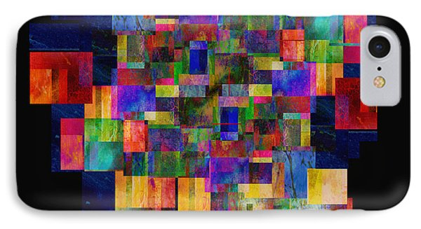 Color Fantasy - Abstract - Art Phone Case by Ann Powell