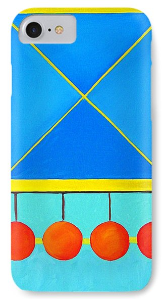 IPhone Case featuring the painting Color Geometry - Square by Carolyn Goodridge