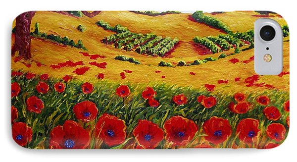 Color In The Vineyards IPhone Case by Lisa V Maus