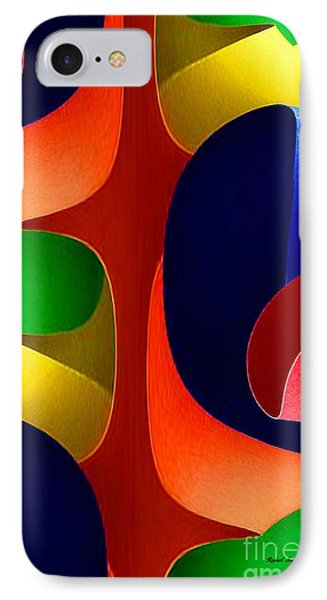 IPhone Case featuring the digital art Color Maze by Rafael Salazar