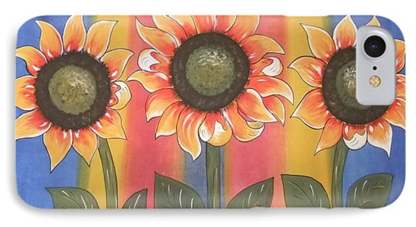 IPhone Case featuring the painting Color Me Sunny by Cindy Micklos