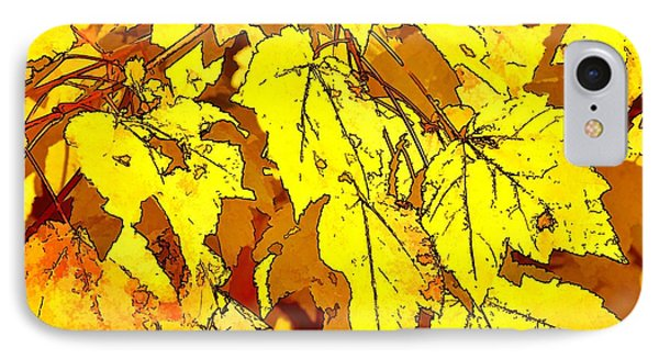 Color Of Fall IPhone Case by Ludwig Keck