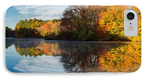 Color On Grist Mill Pond Phone Case by Michael Blanchette