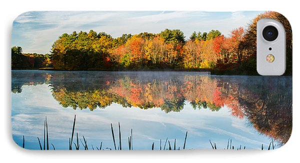 Color On Grist Millpond Phone Case by Michael Blanchette