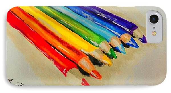 Color Pencils IPhone Case